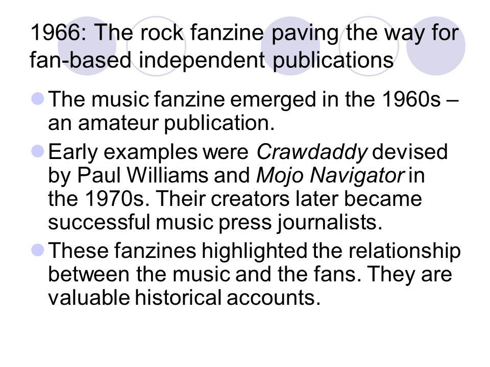 1966: The rock fanzine paving the way for fan-based independent publications
