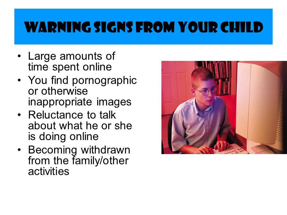 Warning Signs from Your Child