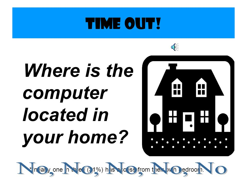 Where is the computer located in your home