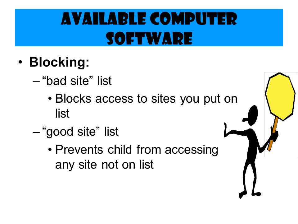 Available Computer Software