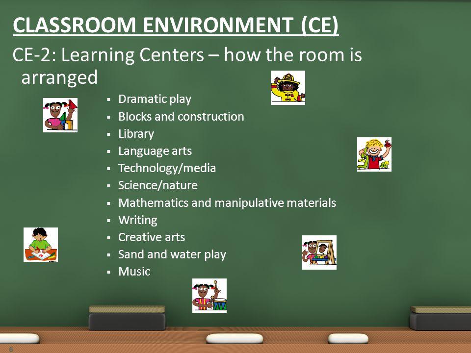 CLASSROOM ENVIRONMENT (CE)