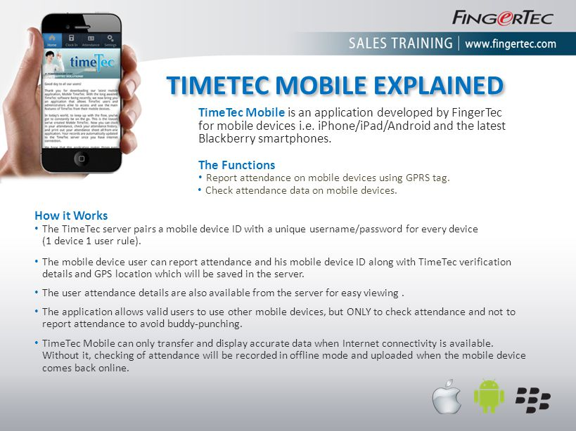 TIMETEC MOBILE EXPLAINED
