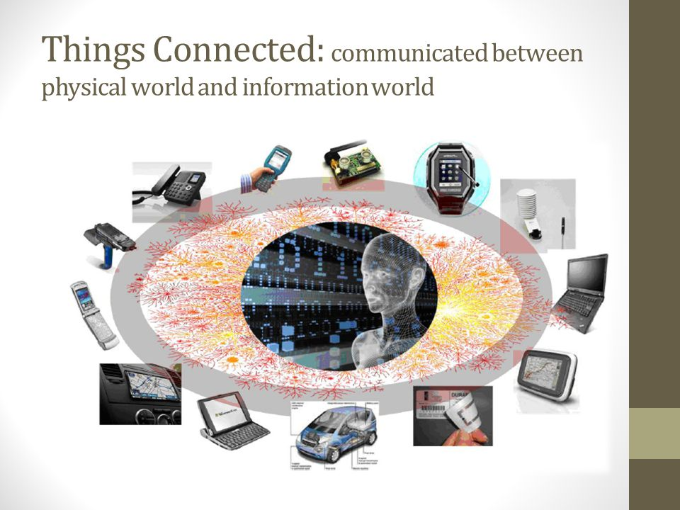 Things Connected: communicated between physical world and information world