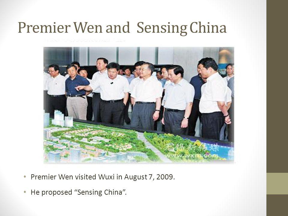 Premier Wen and Sensing China