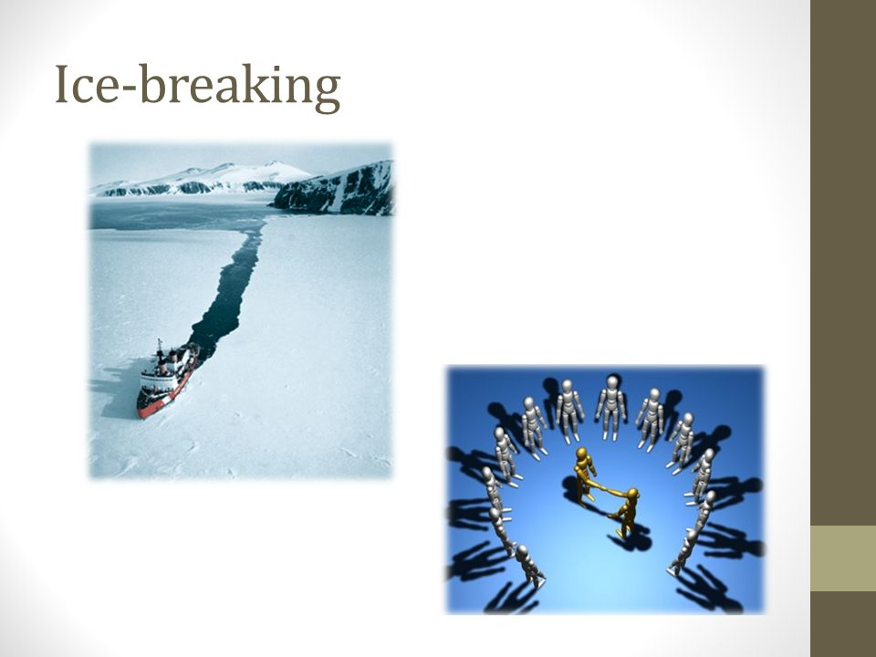 Ice-breaking