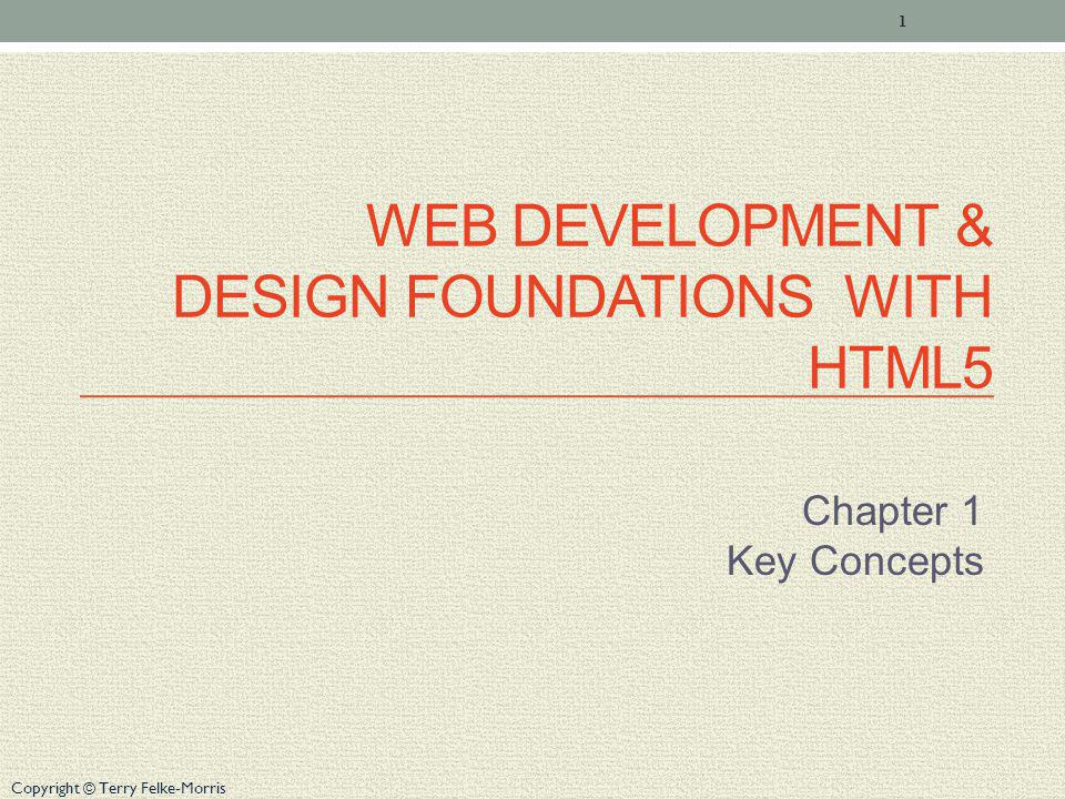 Web Development & Design Foundations with HTML5