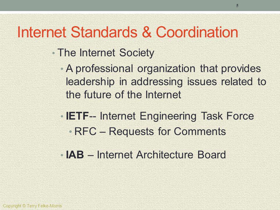 Internet Standards & Coordination