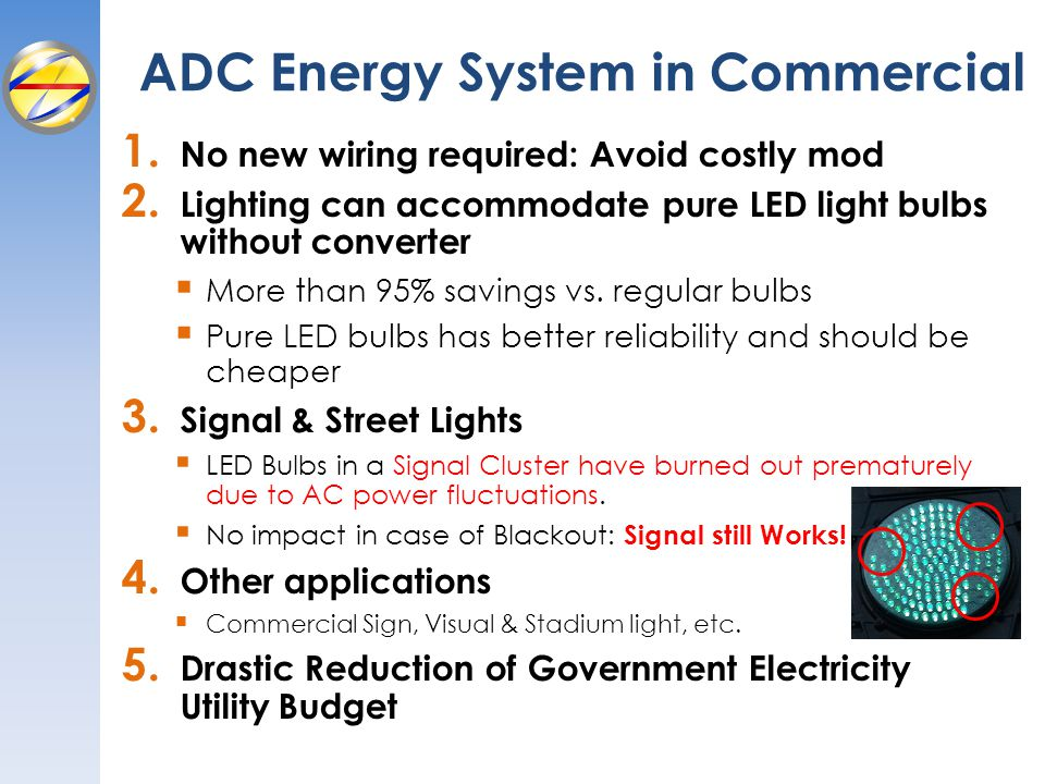 ADC Energy System in Commercial