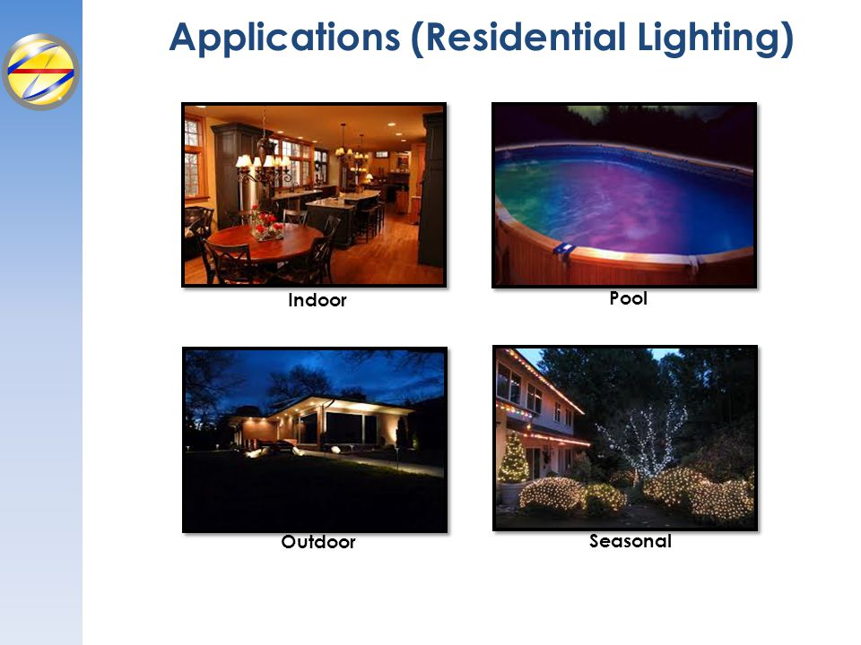 Applications (Residential Lighting)