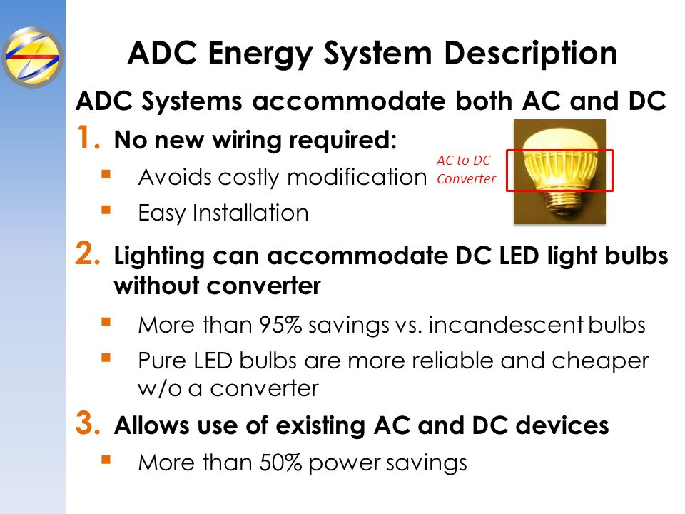 ADC Energy System Description