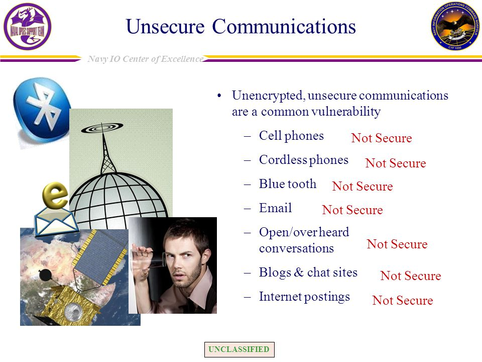 Unsecure Communications