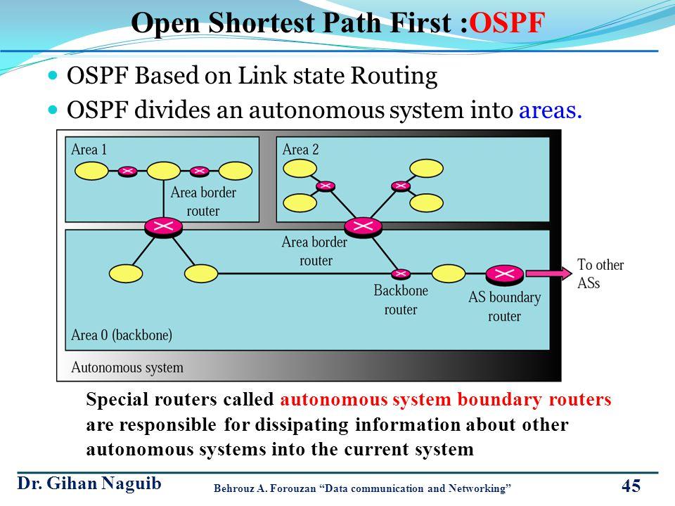 Open Shortest Path First :OSPF