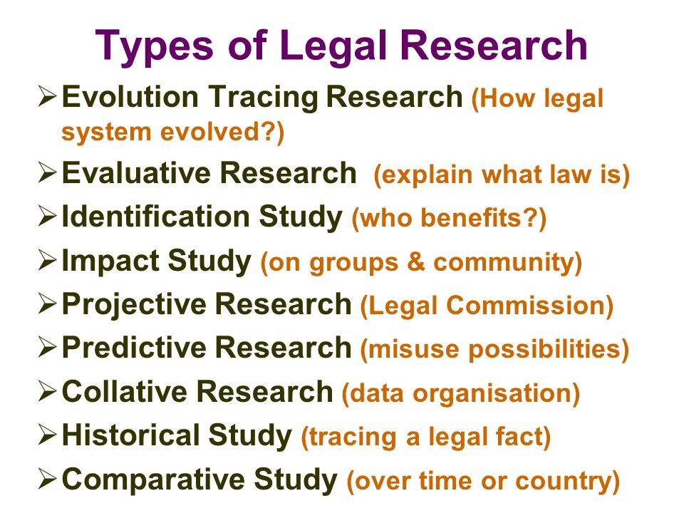 A comparative analysis of the different types of laws and legal systems