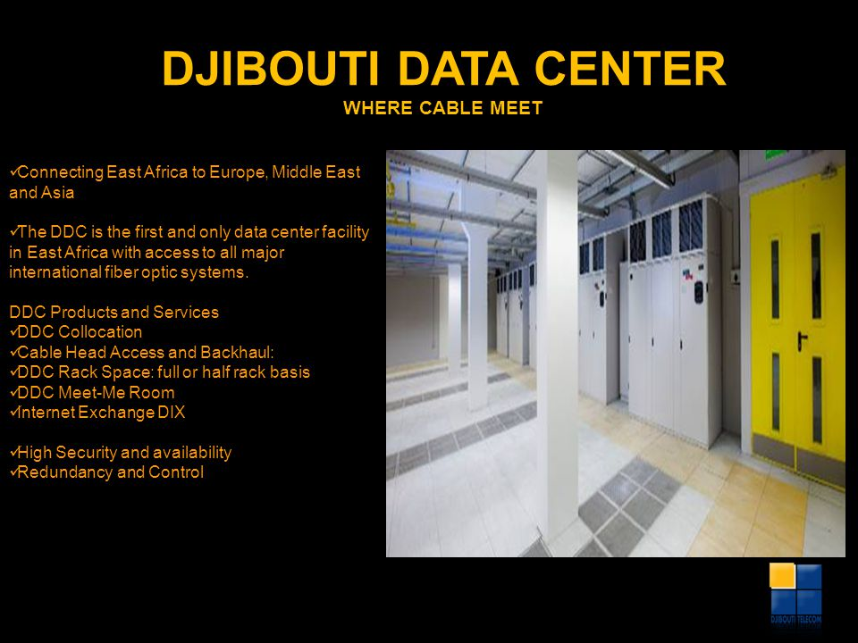 DJIBOUTI DATA CENTER WHERE CABLE MEET