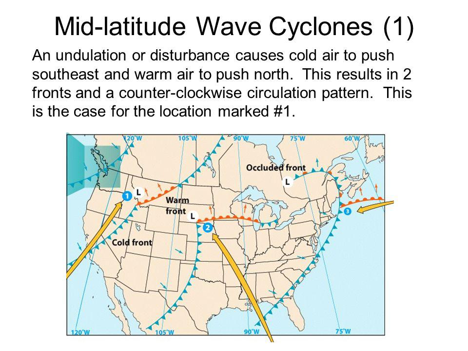 Mid-latitude Wave Cyclones (1)