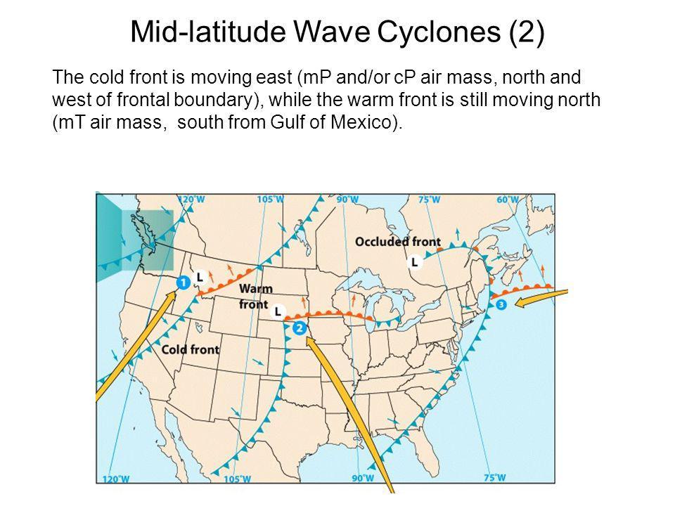 Mid-latitude Wave Cyclones (2)