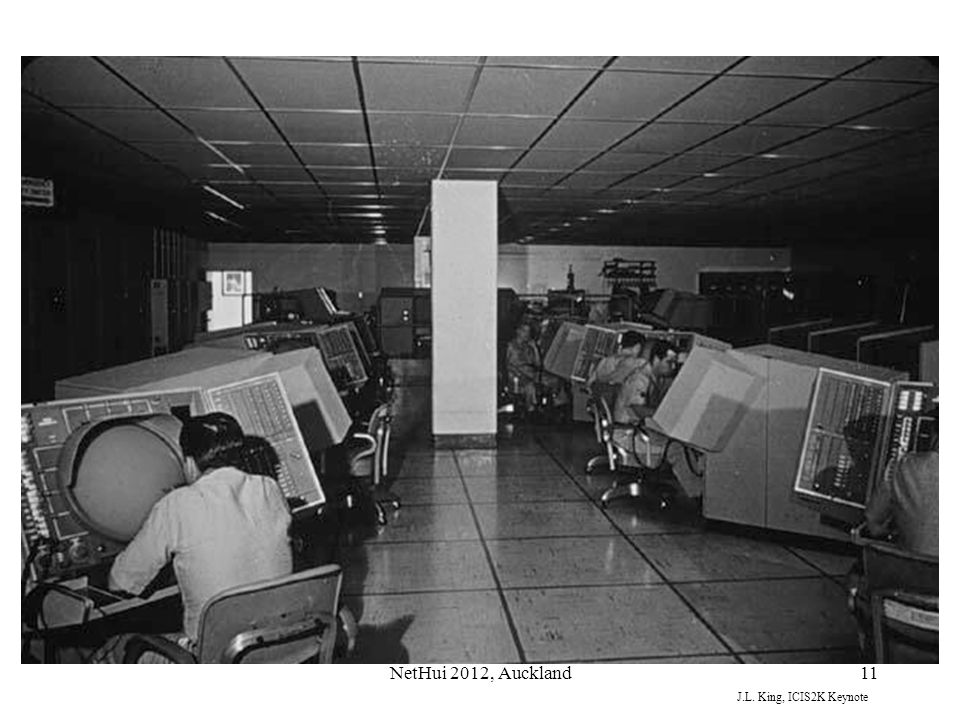 EACH CENTER HAD MULTIPLE CONSOLES, ENOUGH TO COVER ALL THE RADAR DEVICES THEN OPERATING