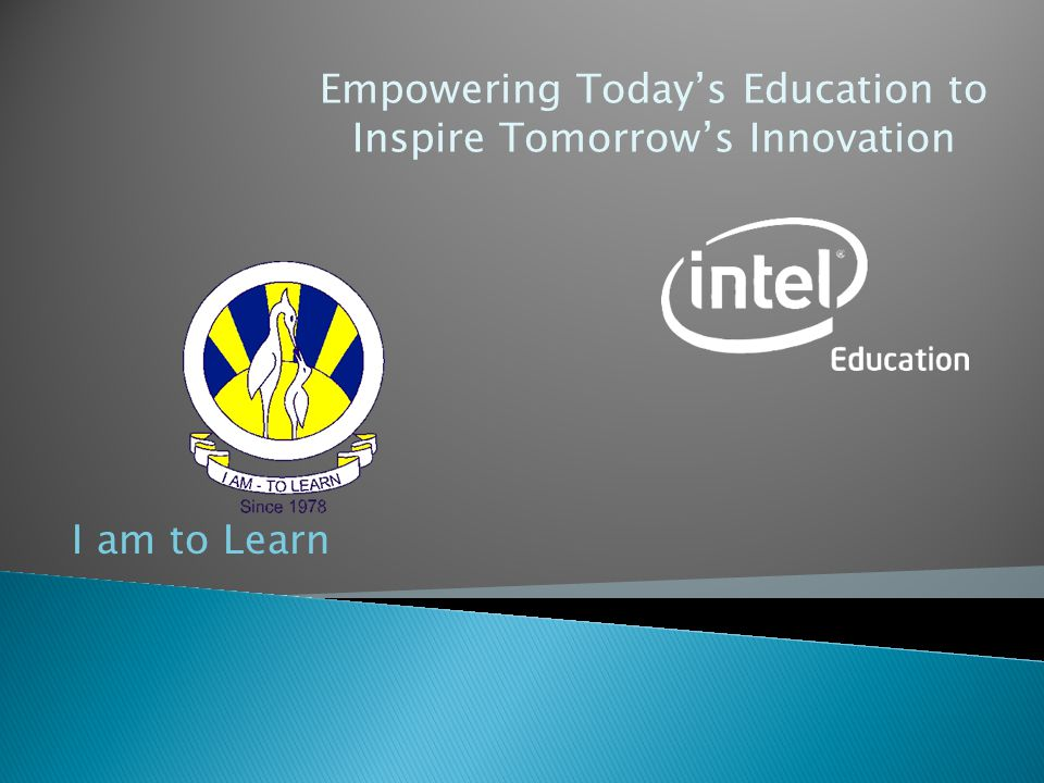 Empowering Today's Education to Inspire Tomorrow's Innovation