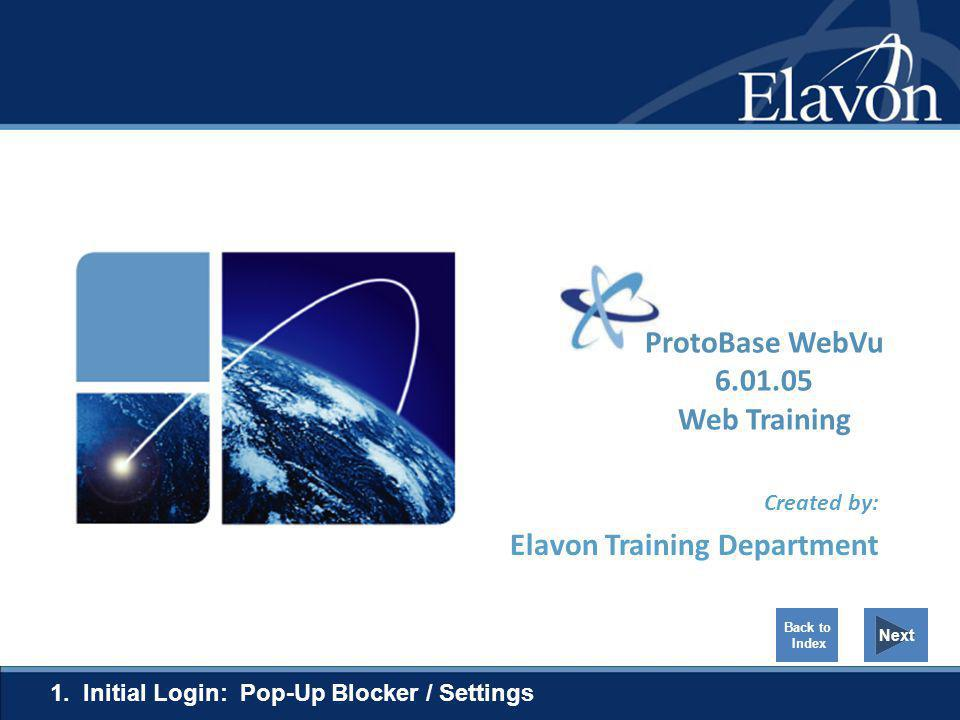 Created by: Elavon Training Department