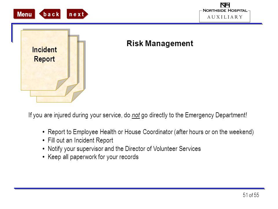 Incident Risk Management Report