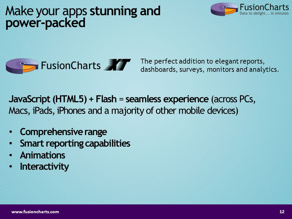 Make your apps stunning and power-packed