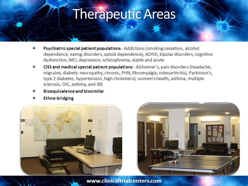 Therapeutic Areas