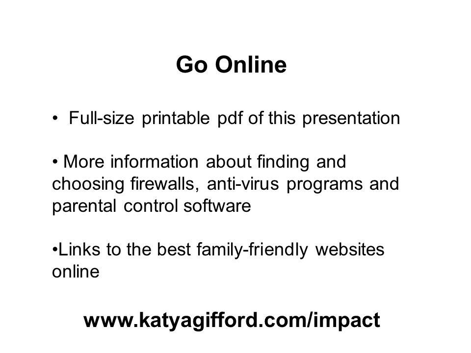 Go Online www.katyagifford.com/impact