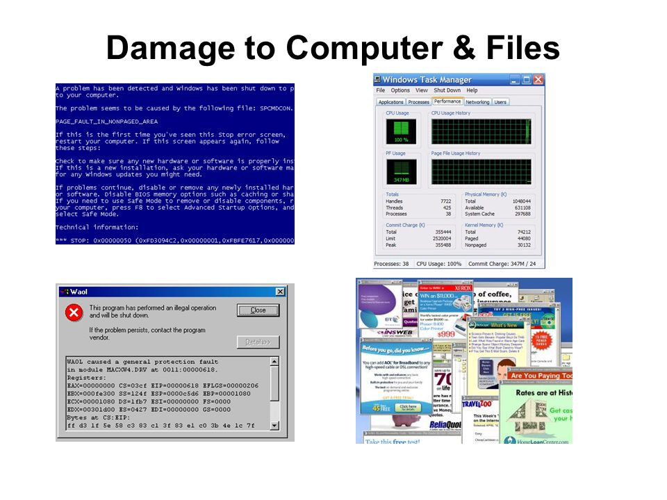 Damage to Computer & Files