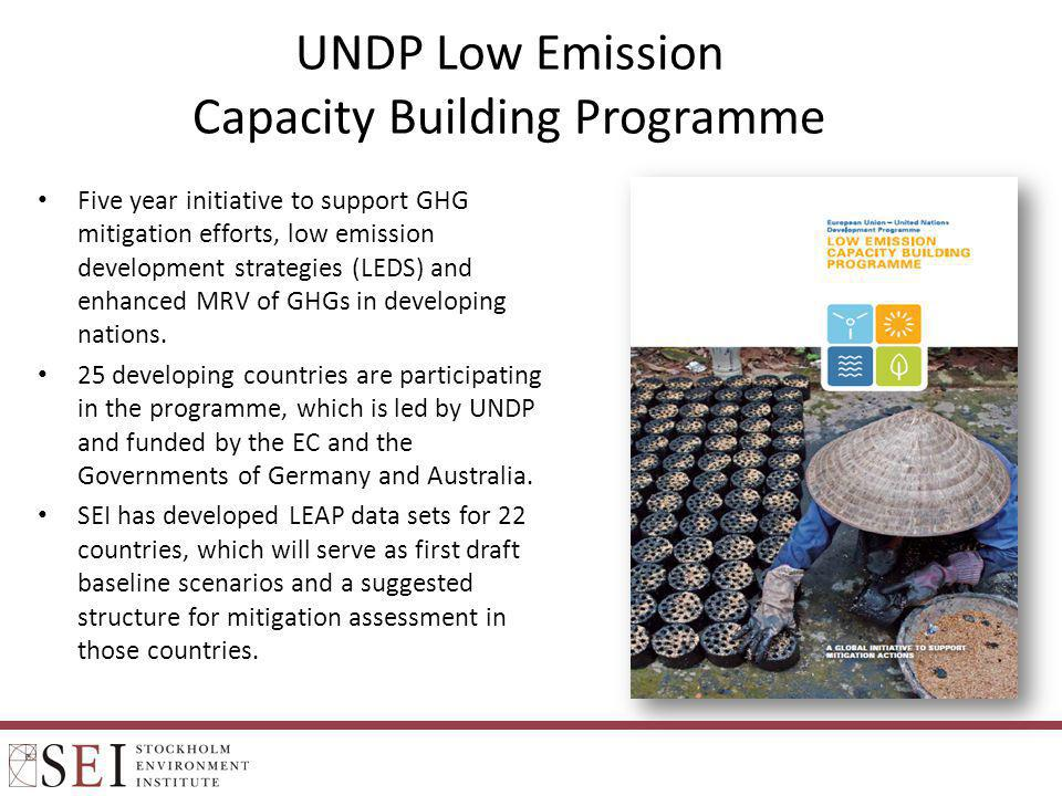 UNDP Low Emission Capacity Building Programme