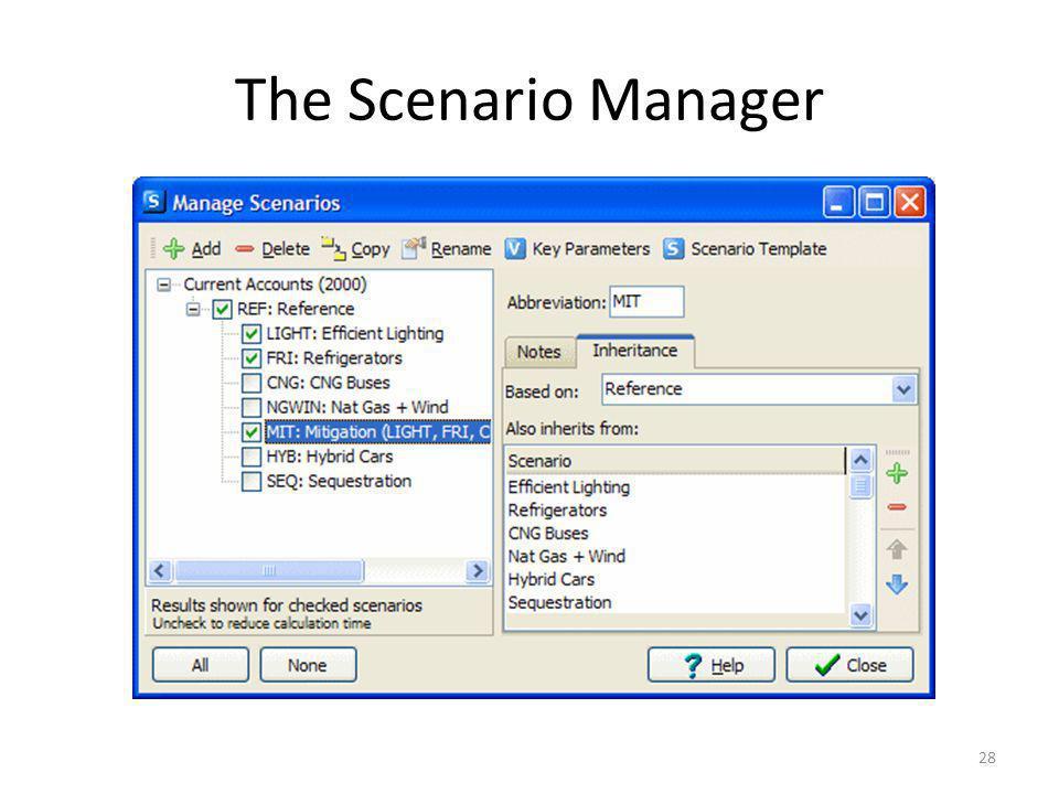 The Scenario Manager