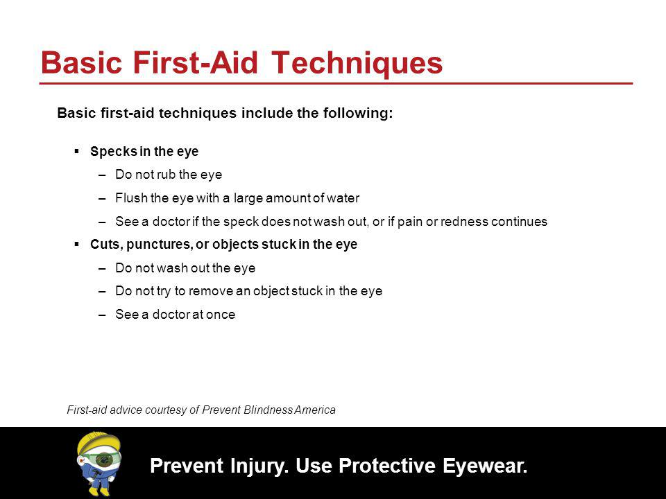 Basic First-Aid Techniques