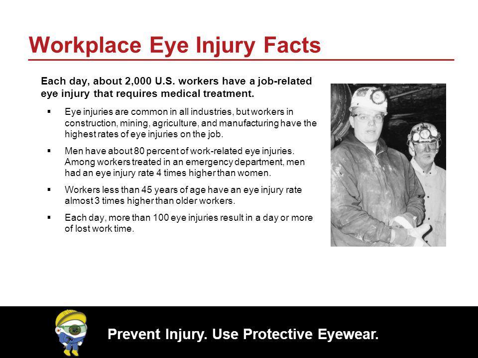 Workplace Eye Injury Facts