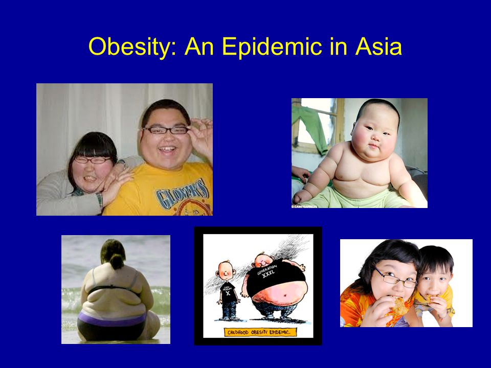 Obesity: An Epidemic in Asia