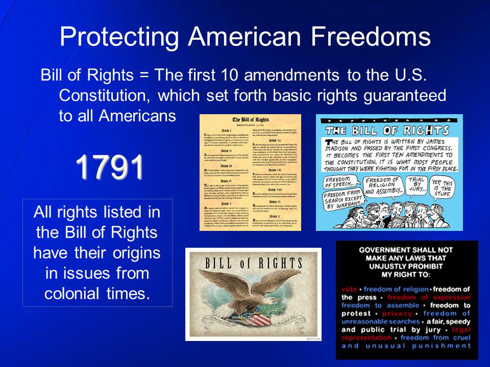 Protecting American Freedoms