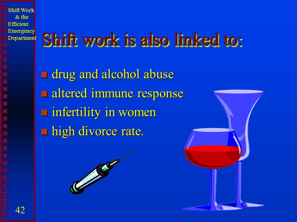 Shift work is also linked to: