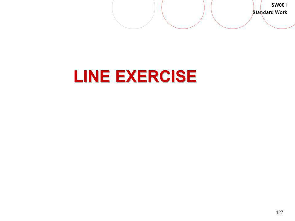 LINE EXERCISE