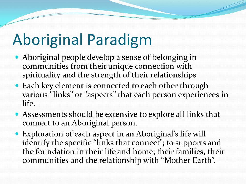 Aboriginal Paradigm