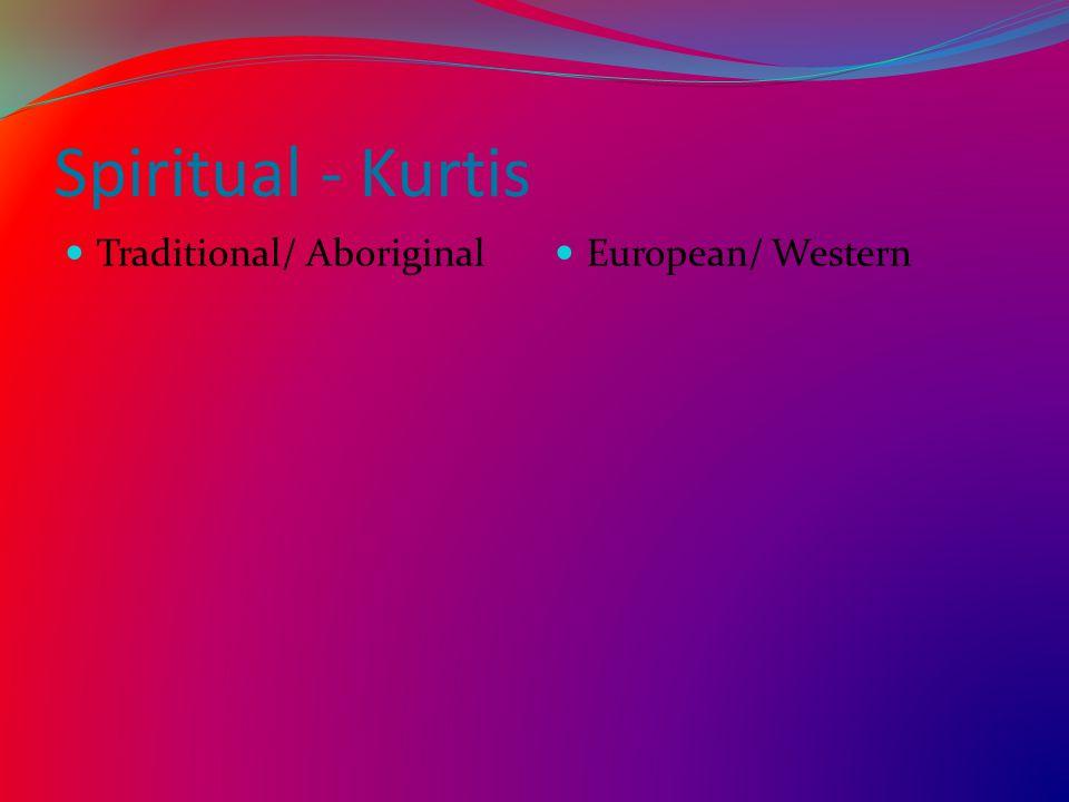 Spiritual - Kurtis Traditional/ Aboriginal European/ Western