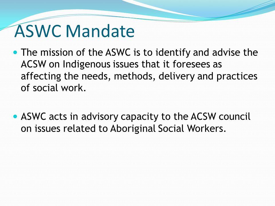 ASWC Mandate