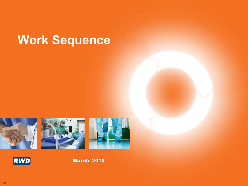 Work Sequence
