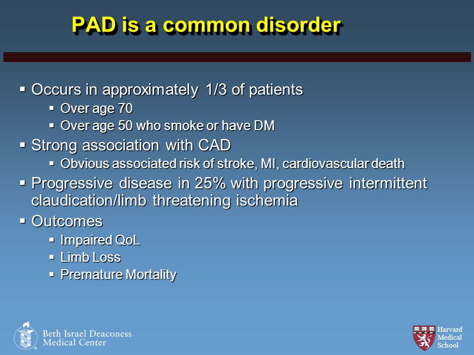 PAD is a common disorder