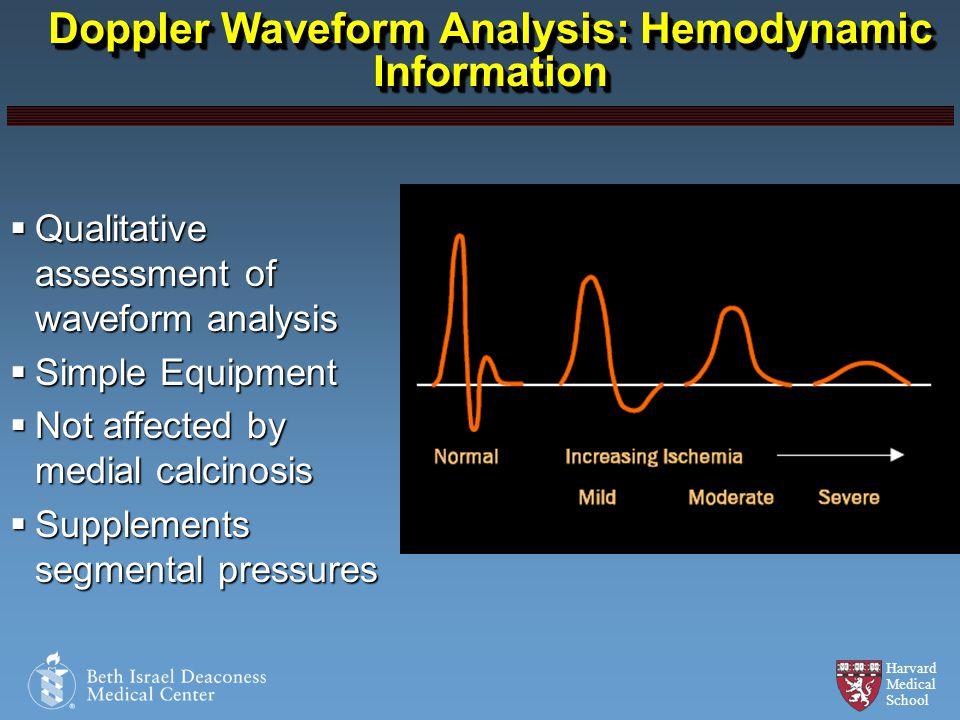 Doppler Waveform Analysis: Hemodynamic Information