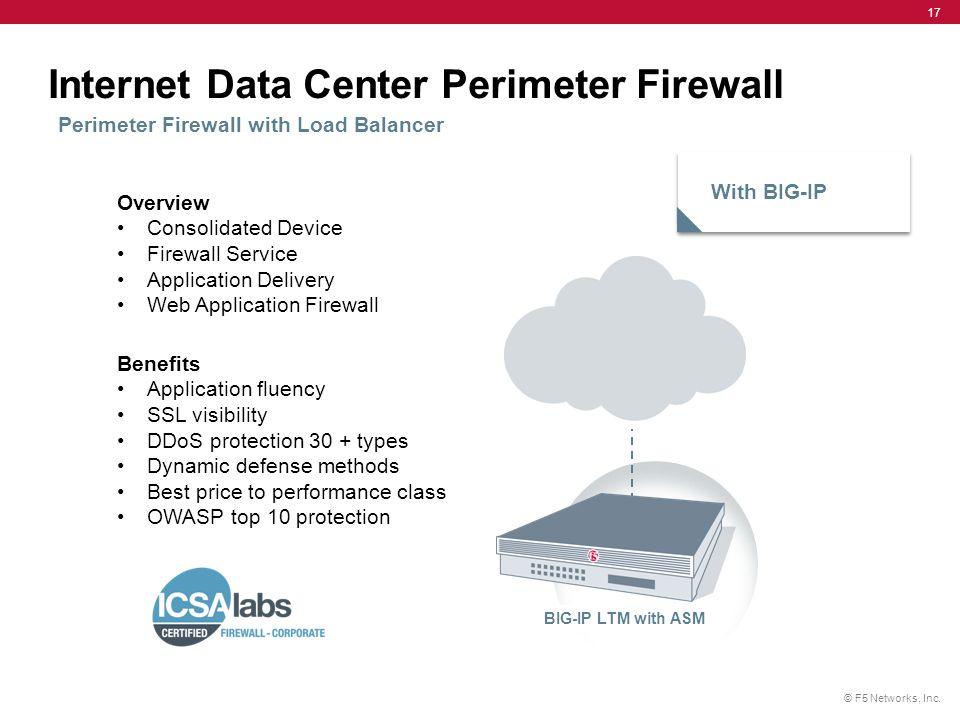 Internet Data Center Perimeter Firewall