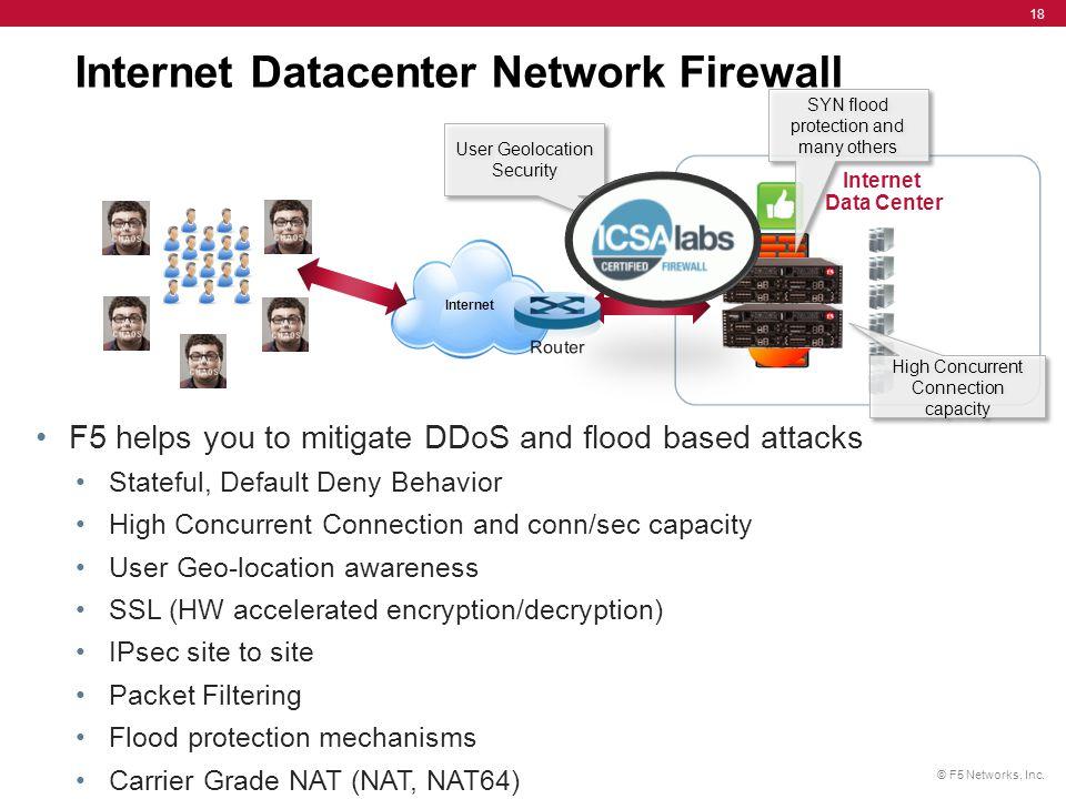 Internet Datacenter Network Firewall