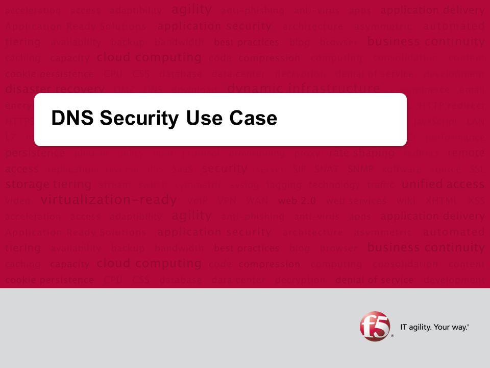 DNS Security Use Case