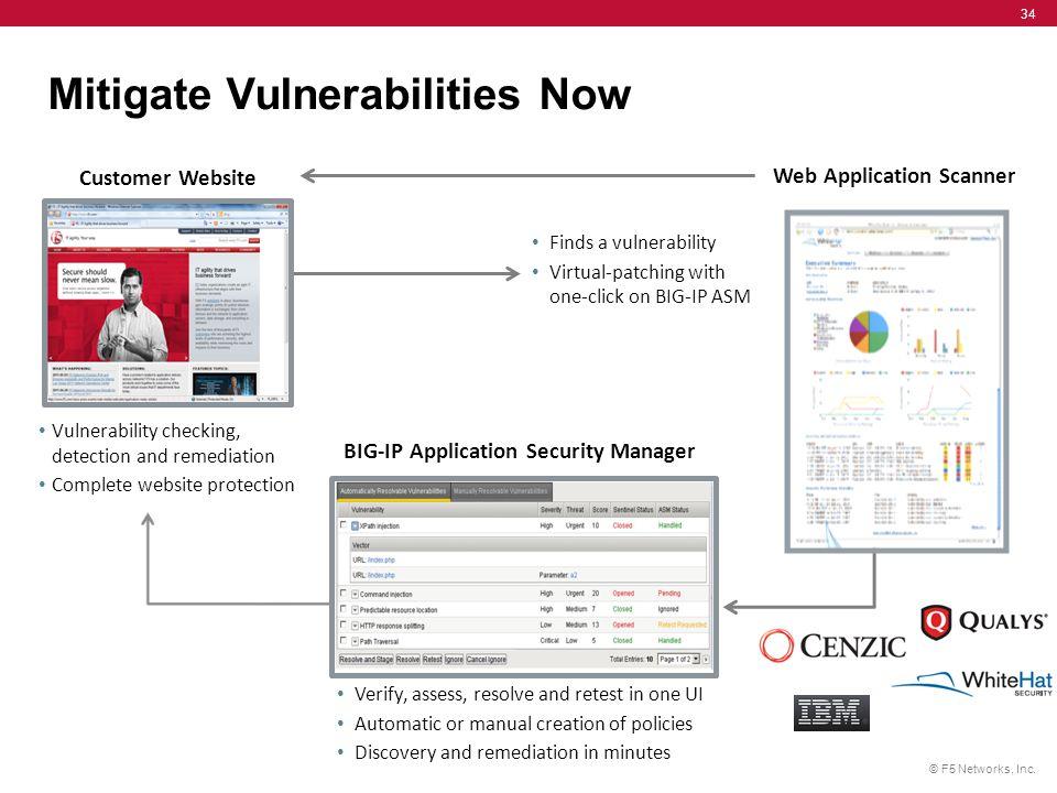 Mitigate Vulnerabilities Now