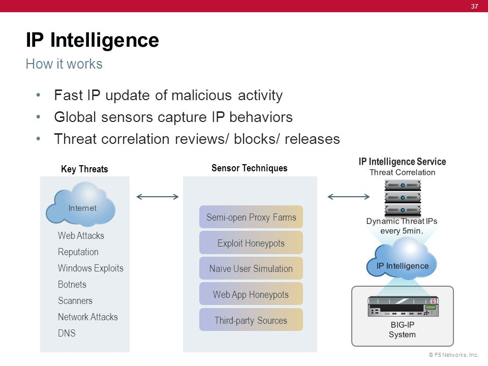 IP Intelligence How it works