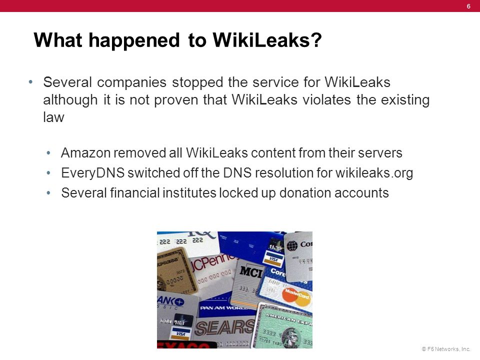 What happened to WikiLeaks