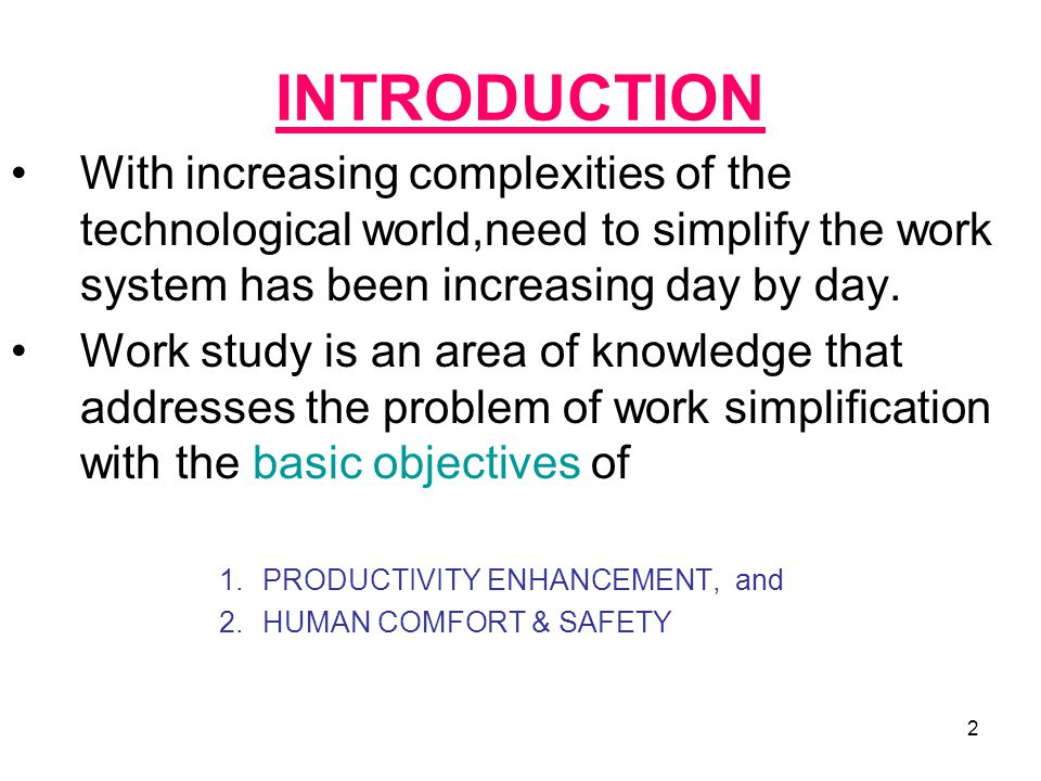 INTRODUCTION With increasing complexities of the technological world,need to simplify the work system has been increasing day by day.