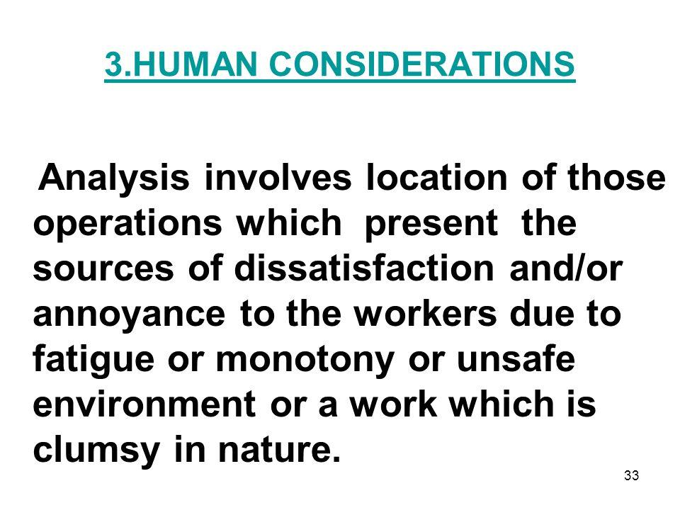 3.HUMAN CONSIDERATIONS